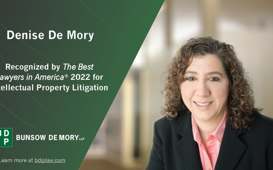 Denise De Mory Recognized by Best Lawyers in America 2022